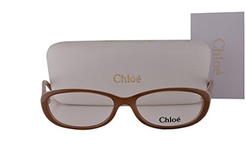 Chloe CE2602 Eyeglasses 53-16-135 Light Brown 248 CE - Glasses Cloe