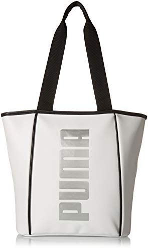 PUMA Women's Evercat Royale Tote, white, One size (Handbag Puma White)