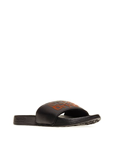del Lineman Slider di Nero Superdry Nero Uomo pool EnqxxwZC