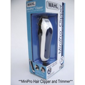 Mini Clipper (Wahl 12 Pieces Mini Pro Cord Clipper and Trimmer 9307)
