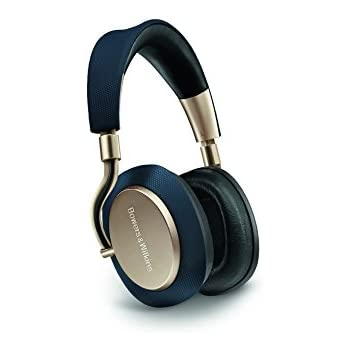 Bowers & Wilkins PX Active Noise Cancelling Wireless Headphones, High Performance, Soft Gold