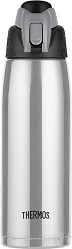 Thermos Vacuum Insulated 24 Ounce Stainless Steel Hydration Bottle, Stainless Steel