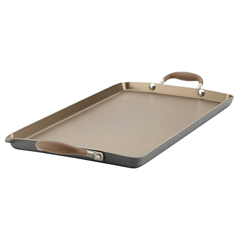 Anolon Advanced Umber 18-inch x 10-Inch Double Burner Griddle