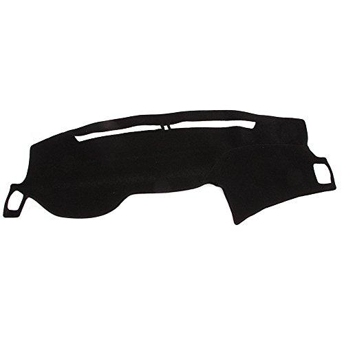 (Hex Autoparts Dash Cover Mat Dashboard Pad Black for Honda Accord 2013 2014 2015 2016 2017)