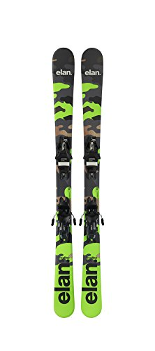 ELAN Freeride 125cm Skis w. Release Ski Bindings ()