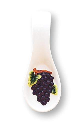 Tuscany 3D Grape Spoon Rest -