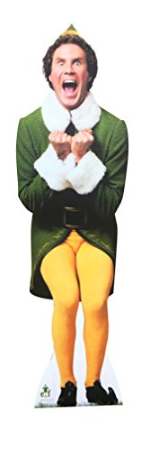 Elf Excited - Advanced Graphics Outdoor Life Size Standup Yard Sign - For Outdoor Use]()