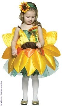 Rasta Imposta The Botanicals Sunflower Costume, Child 7-10