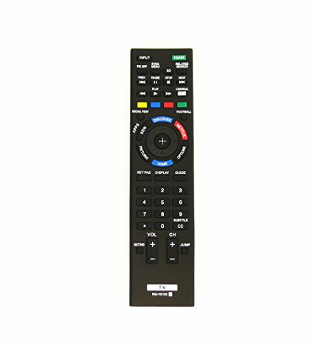 Philip Shaw RM-YD102 1402 Sony Smart LED HDTV Remote Control with Virtual Keyboard, 3D Button & Netflix Button