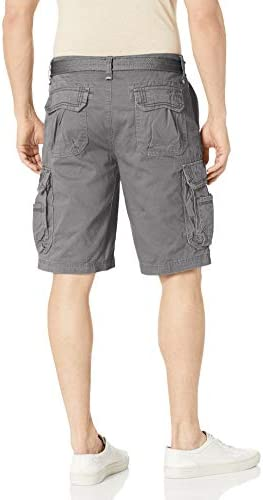 UNIONBAY Men's Survivor Belted Cargo Short-Reg and Big & Tall Sizes 3