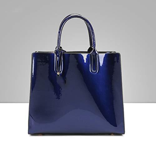 Donna Da A Blue Nero Borse Tracolla Borsette Tote Mjfo qF56S6C
