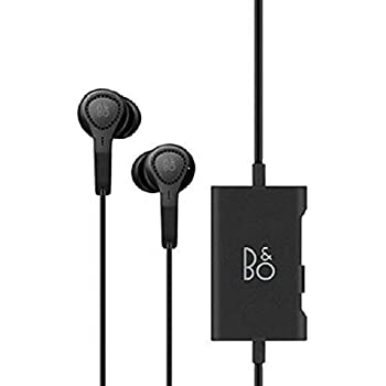 B&O PLAY by Bang & Olufsen 1644526 Beoplay E4 Advanced Active Noise Cancelling Earphones (Black)