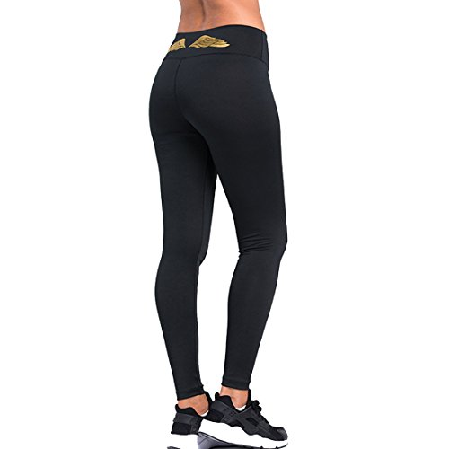 Slocyclub Women's Activewear Yoga Pants High Rise Workout Gym Spanx Tights leggings