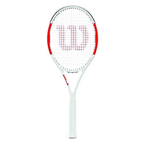 (Wilson Six.One Team 95 Tennis Racquet - Strung (4 3/8))