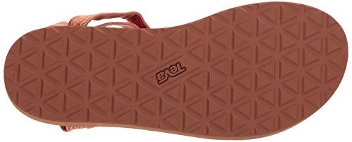 Multi Fade Mujer Miramar Teva W's Heels Sandals Para Universal Sand Original Coral 46x6qPw8