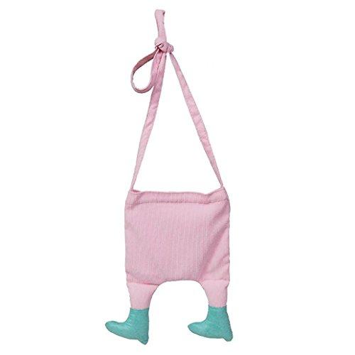 sundatebe - Bolso cruzados para mujer caqui talla única rosa