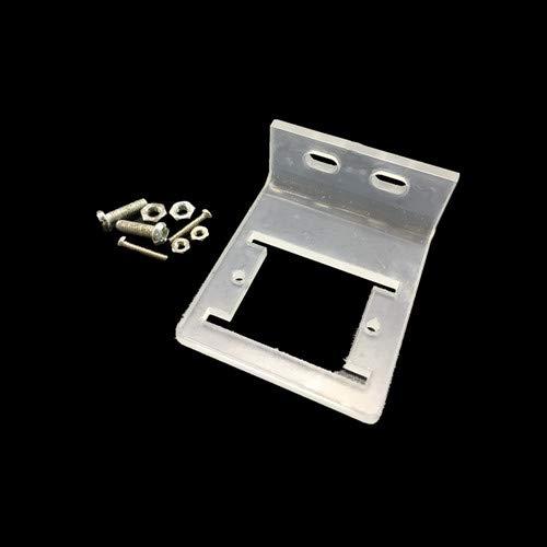 HC-SR501アクリルブラケットIR焦電赤外線モーションセンサー検出器モジュール用arduino diyキットSR501ブラケット
