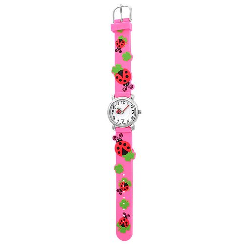 Bling Jewelry Girls Pink Ladybug Clover Kids Watch Stainless Steel Back by Bling Jewelry (Image #5)