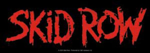 Licenses Products Skid Row Red Logo - Logo Row The