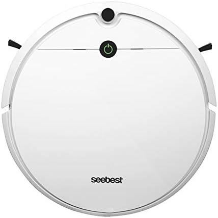 Seebest Smart WiFi D752 Robot Aspirador 1000 Pa, Aspira, Barre, Friega y Pasa la Mopa, Alexa y Google Asistente,Naranja/Blanco (Blanco): Amazon.es: Hogar