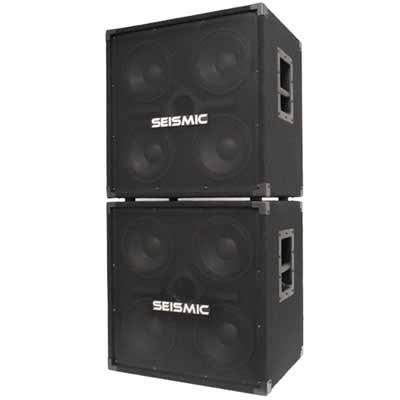 Seismic Audio - SA-4x8PKG1 - Pair of 4x8 Bass Speaker Cabinets
