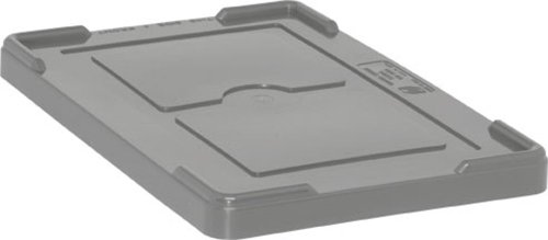 Quantum Storage Systems COV92000GY Cover for Dividable Grid Container DG92035, DG92080 and DG92060, Gray, 4-Pack