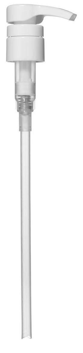 Universal Shampoo/Conditioner Dispenser Pump for 1 Liter (33.8 Ounce) Bottles - White (Pack of 1)