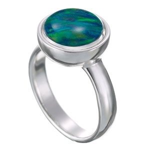 Kameleon Cup Shaped Ring Size 7 * Jewelpop Authentic Silver New KR18size 7 - Cup Shaped Ring