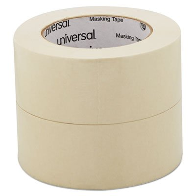 General Purpose Masking Tape, 2'''' x 60yds, 3'''' Core, 2/Pack, Sold as 2 Roll