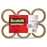 * 3350 General Purpose Packaging Tape, 1.88'' x 54.6 yds, Tan, 6/Pack