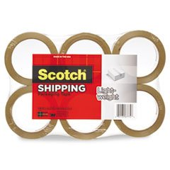 * 3350 General Purpose Packaging Tape, 1.88'' x 54.6 yds, Tan, 6/Pack