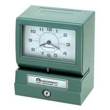ACP01207040A - Acroprint Model 150 Heavy-Duty Analog Automatic Print Time Clock ()