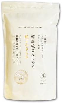 乾燥粒こんにゃく 粒こんきらり 325g(65g×5袋)×10袋