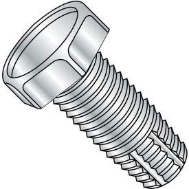 12-24X1/2 Unslotted Indented Hex Thread Cutting Screw Type F Fully Threaded Zinc, Pkg of 6000 (1208FH)