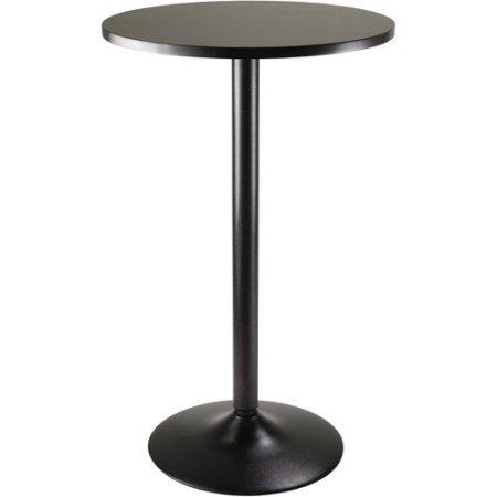 "Obsidian 24"" Round Pub Table (Black)"
