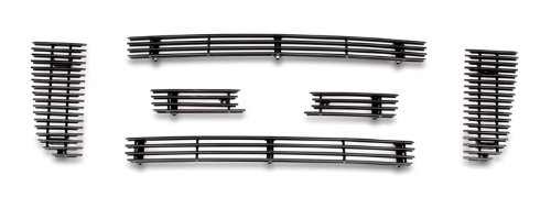 Fits 2006-2012 Ford Ranger FX4/XL/XLT Black Billet Grille Grill Insert for 6 Panel Style #F66027H (2006 Ford Ranger Grill Emblem)