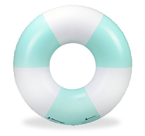 Mimosa Inc Nautical Inflatable Premium Quality Giant Round Tube Pool Float