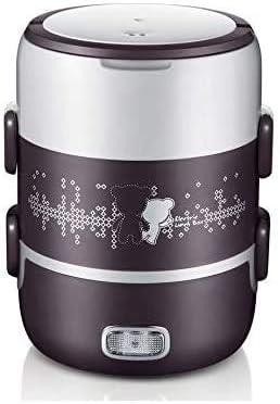 携帯弁当箱電気スチーム蒸気真空ヒートシールの主操作ボタンフード取り外し可能なステンレス鋼の機能を調理ヒータの三枚のプレート