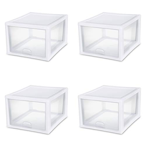 Sterilite 27 Quart Clear Stacking Drawer 23108004