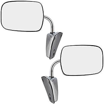 Manual Mirror For 1973-1991 Chevrolet Blazer 1975-1986 C10 Left or Right Chrome