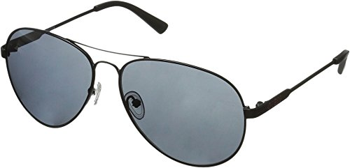 GUESS Men's Metal Aviator Sunglasses, Blk-3, 60 - 2013 Guess Eyewear