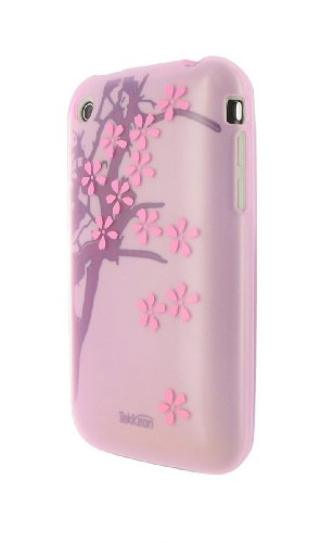 TEKKEON SILICON GEL IPHONE CASE FOR 3G 3GS AND MORE - SPRING CHERRY - Iphone 3g Cherry