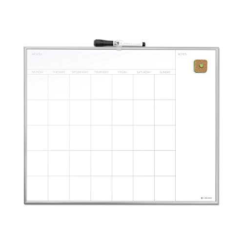 Brands Magnetic Monthly Calendar Aluminum product image