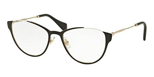 MIU MIU Eyeglasses MU 51OV QE31O1 Black - Eyeglass Best Prices