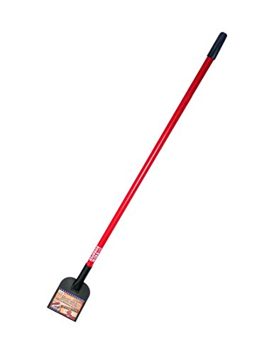 Bully Tools 91300 Floor Bully Flooring Scraper. Long Fiberglass Handle.