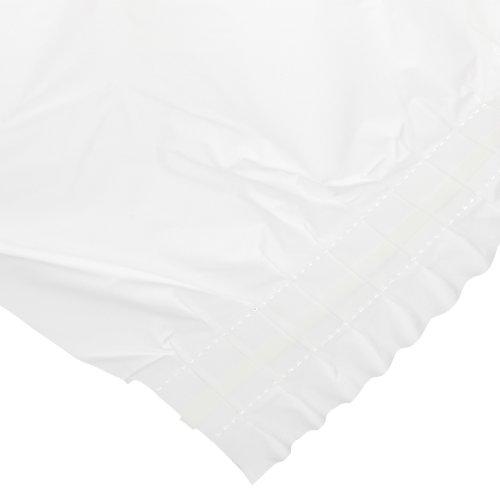 Hoffmaster 110010 Plastic Tableskirt, 14' Length x 29