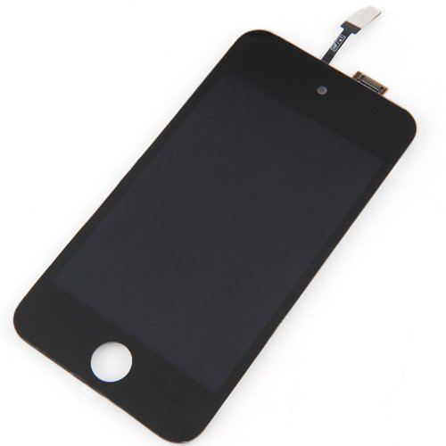 Black Touch Screen Digitizer LCD Assembly for iPod Touch 4 4th Generation (Lcd Screen Ipod Touch 4th)