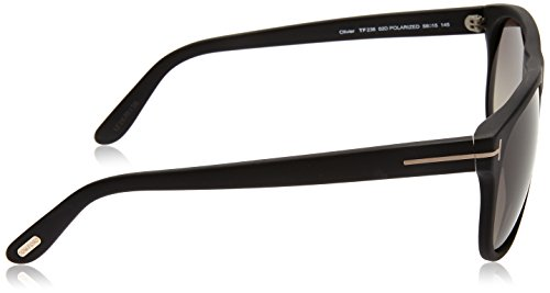 Ford Gafas 145 PANT Black 58 de Tom Polarized 02D Sol FT0236 mm Adulto Unisex 58 dqnpw