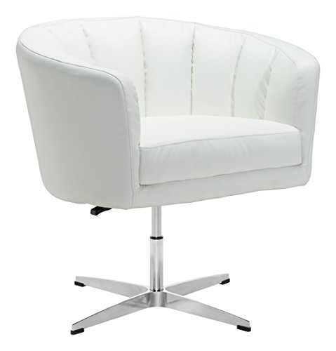 Lane Occasional Tables (Zuo Modern 100769 Wilshire Occasional Chair, Single, White)