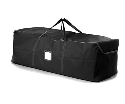 iiSPORT Durable Christmas Tree Storage Bag Large Holiday Storage Duffel Bag Made of 600D Polyester, 49